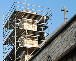 Pinnacle Scaffold Corporation - Saint Thomas the Apostle Church