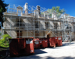 Pinnacle Scaffold Corporation - Bloomfield Mansion