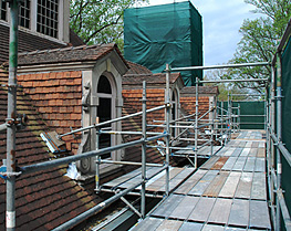Pinnacle Scaffold Corporation - Winterthur Museum